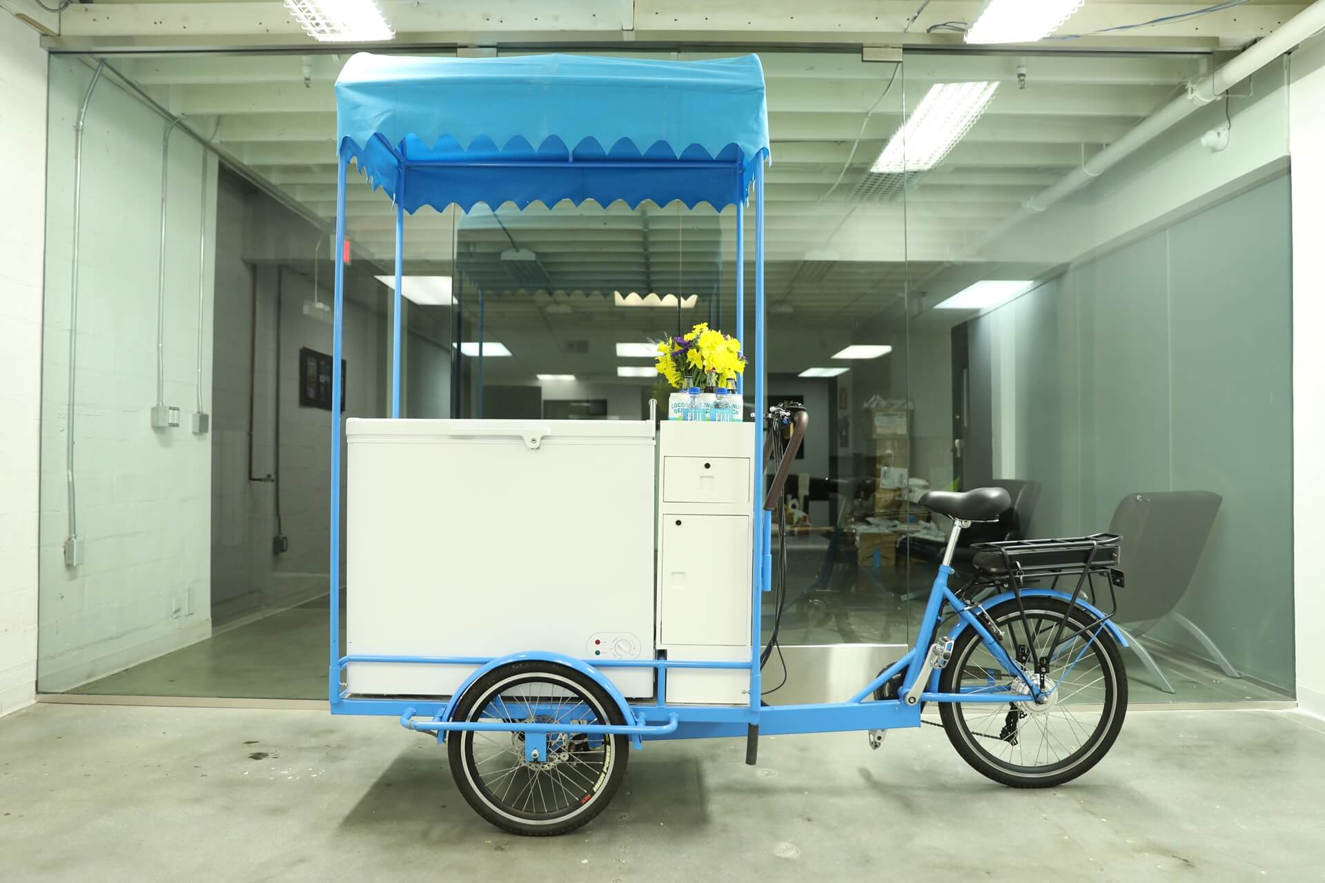 Used ice cream carts in vending bikes business for Architecture firm for sale
