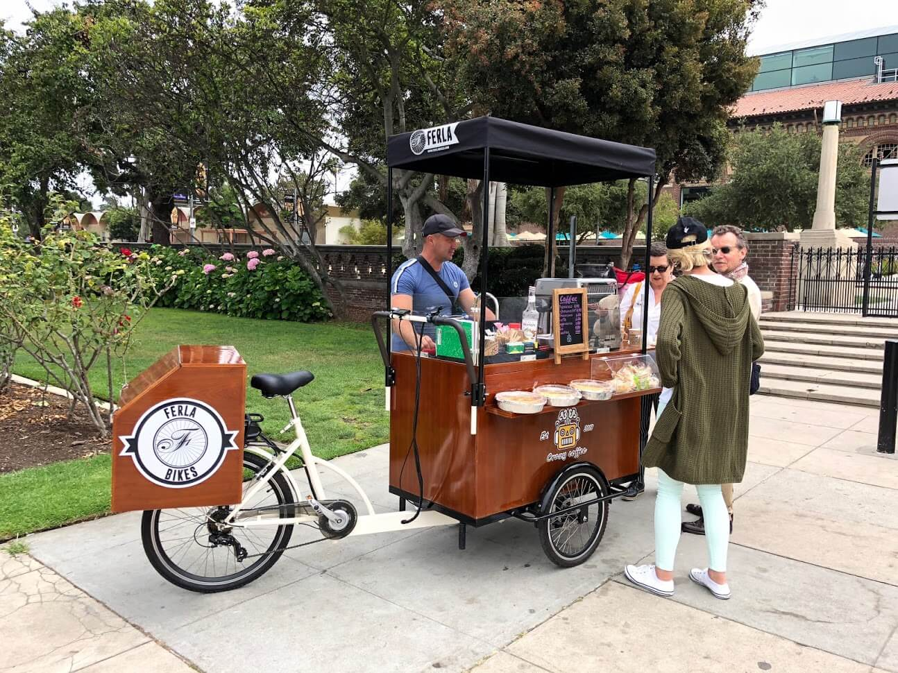 coffee cart for sale