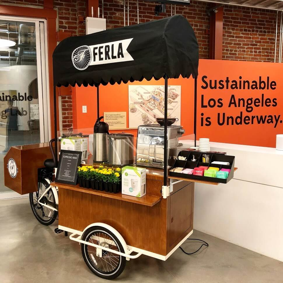 Coffee Cart for a Corporate Event