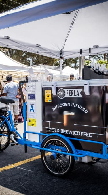 Cold Brew Bike: Serve Your Blend In Fashion