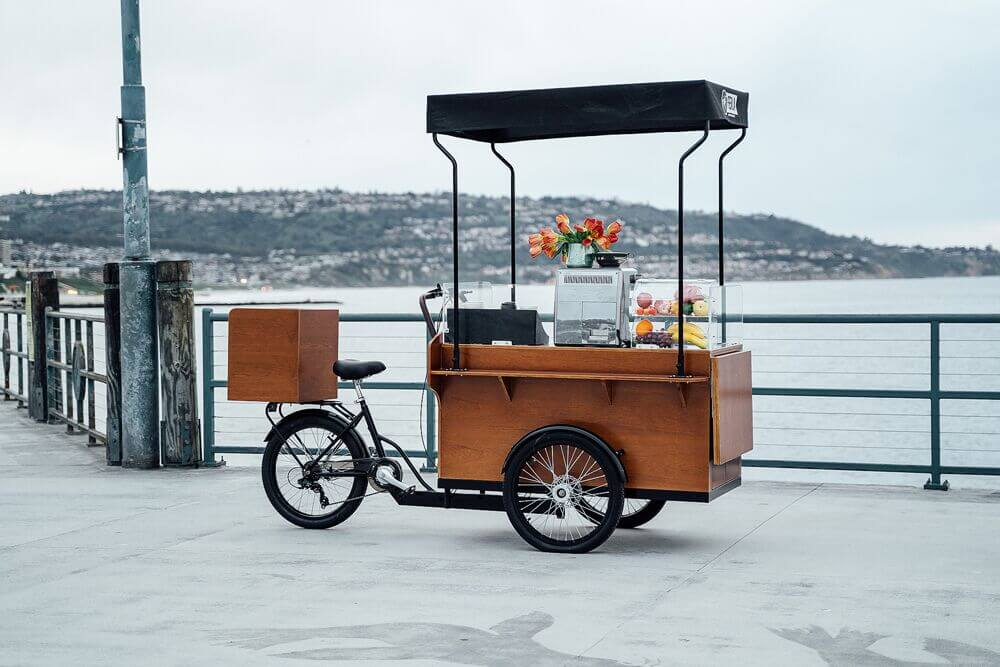 The Most Advanced Coffee Bike in the World: Ferla X