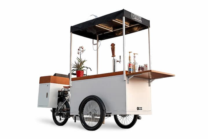 Introducing the Perfect Ice Cream and Cold Brew Bike: The Ferla X – Glacier Edition.