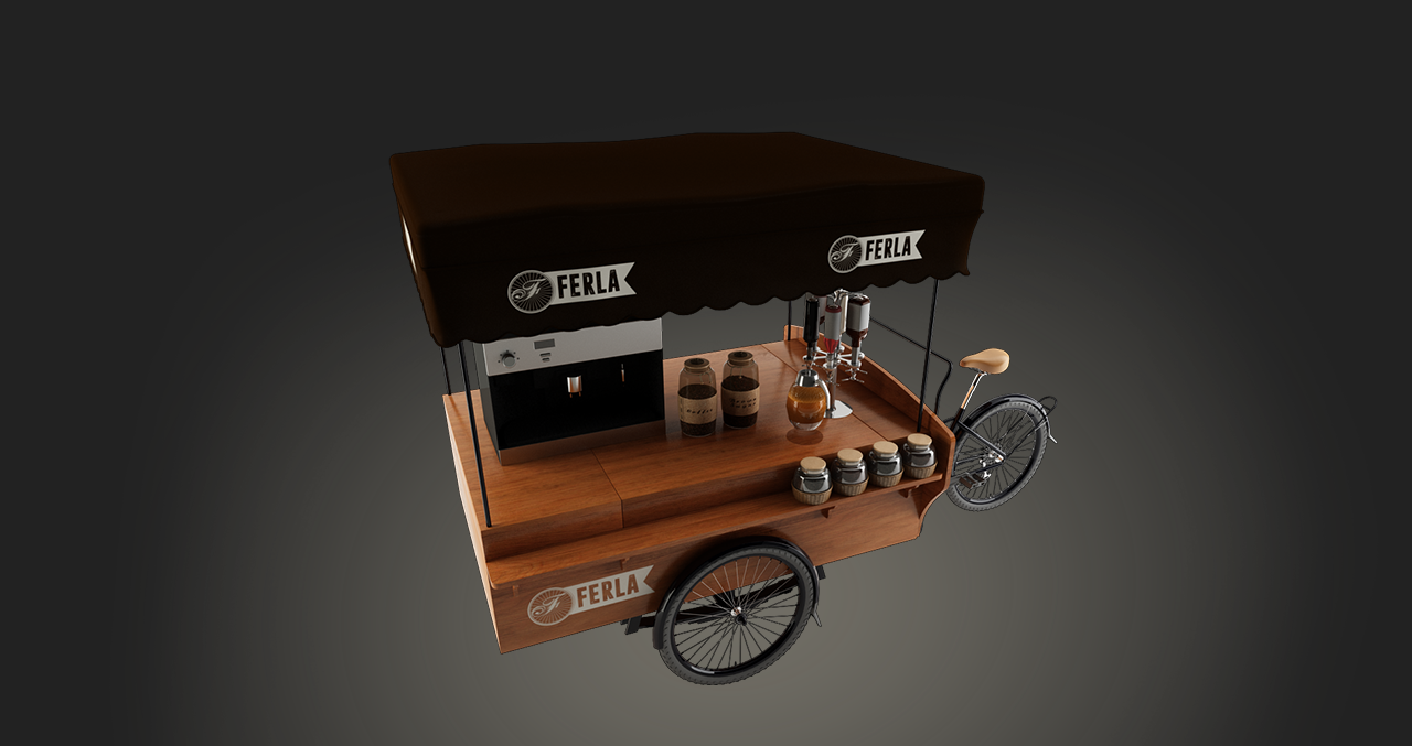 THE MOST SUSTAINABLE COFFEE BIKE IN THE WOLRD